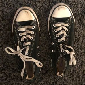 Converse all star black and white sneaker